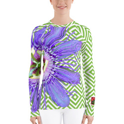 Passion Flower UPF SPF Sun Shirt
