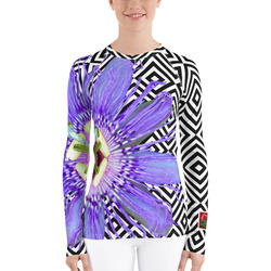 Passion Flower SPF UPF Shirt