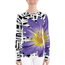 Water Lily Rash Guard